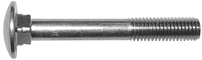Bulskrūve koka konstrukcijām ar zemo galvu DIN 603